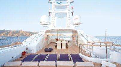 Baraka Yacht Interior