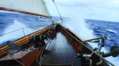 Merrymaid Yacht Interior