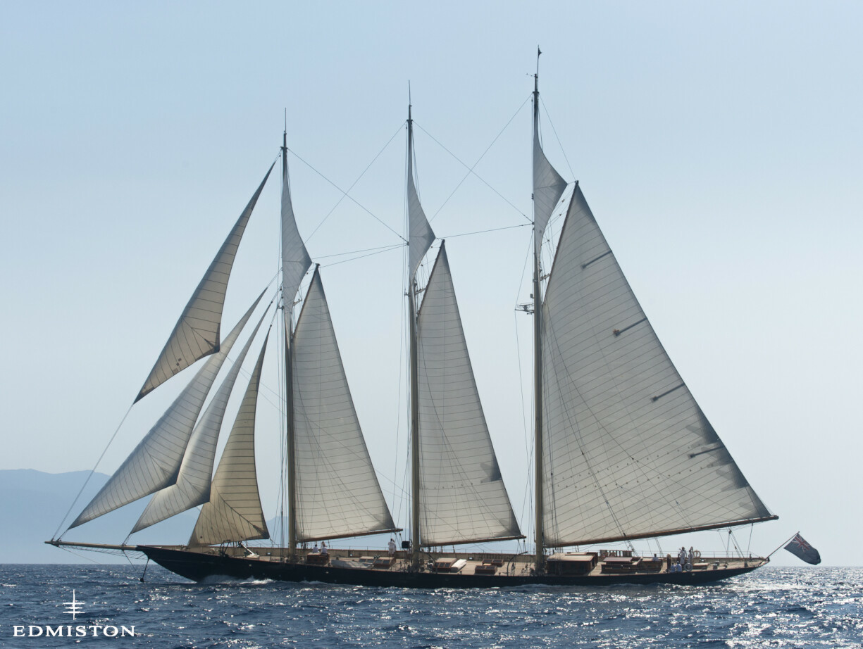 Atlantic Yacht for Sale | Van Der Graaf BV Luxury Sail Yacht | Edmiston