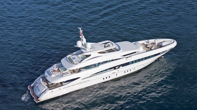 Inception Yacht Charter | Heesen Luxury Motor Yacht | Edmiston