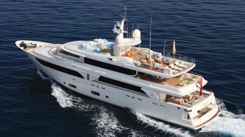 Hana Luxury Super Yacht For Sale