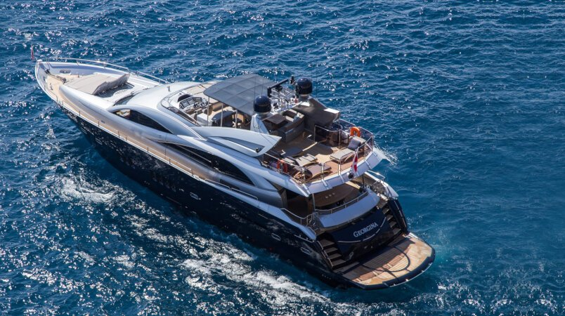 Georgina Luxury Super Yacht For Sale