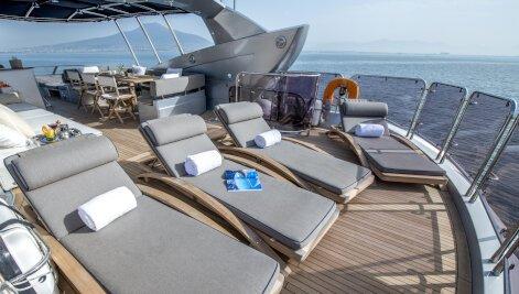 Georgina yacht for Charter