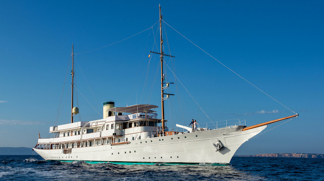 Haida 1929 Yacht Charter | Krupp Germaniawerft Luxury Motor