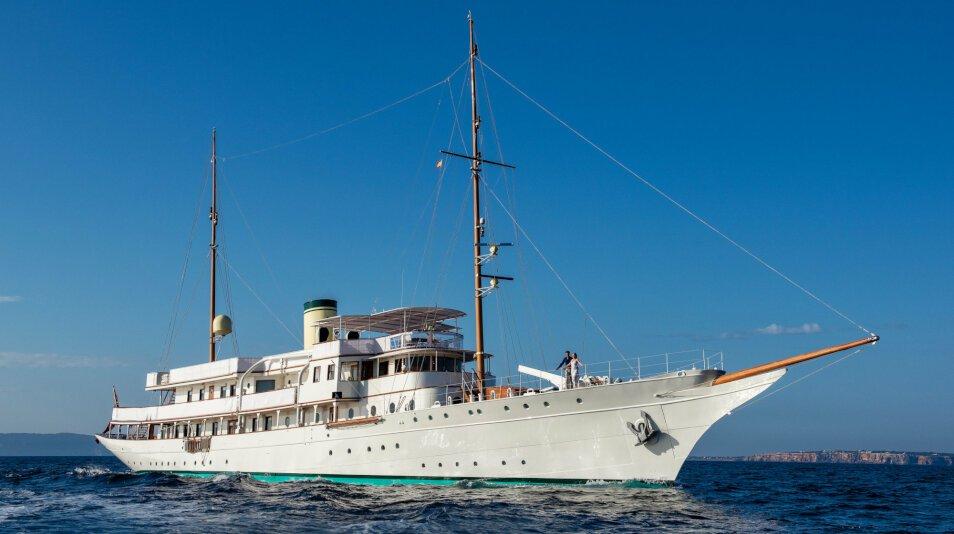 Haida 1929 Yacht for charter
