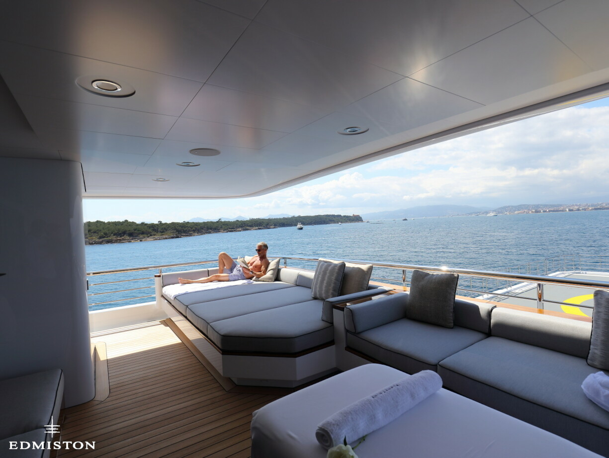 Planet Nine Yacht Charter Admiral Luxury Motor Yacht Edmiston