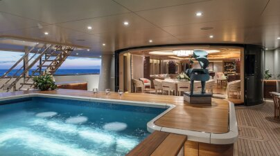 Here Comes The Sun Yacht Interior