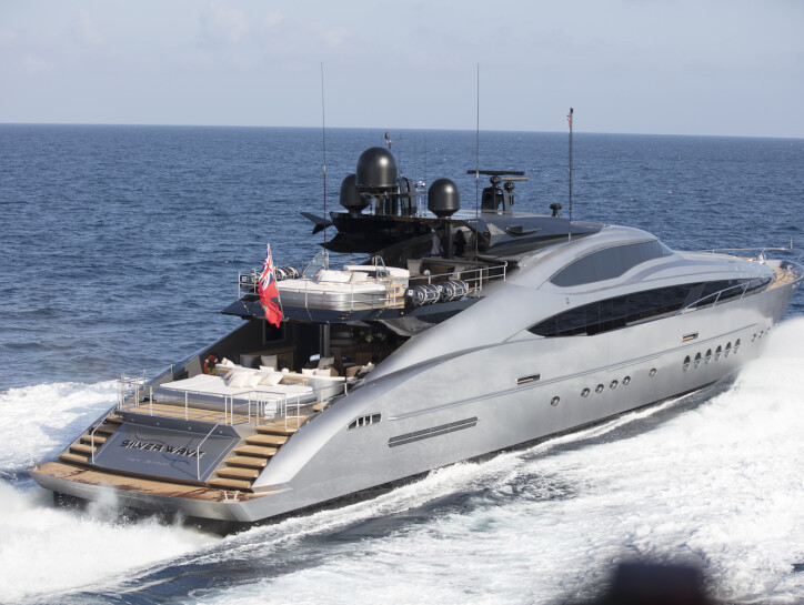 Silver Wave yacht for sale