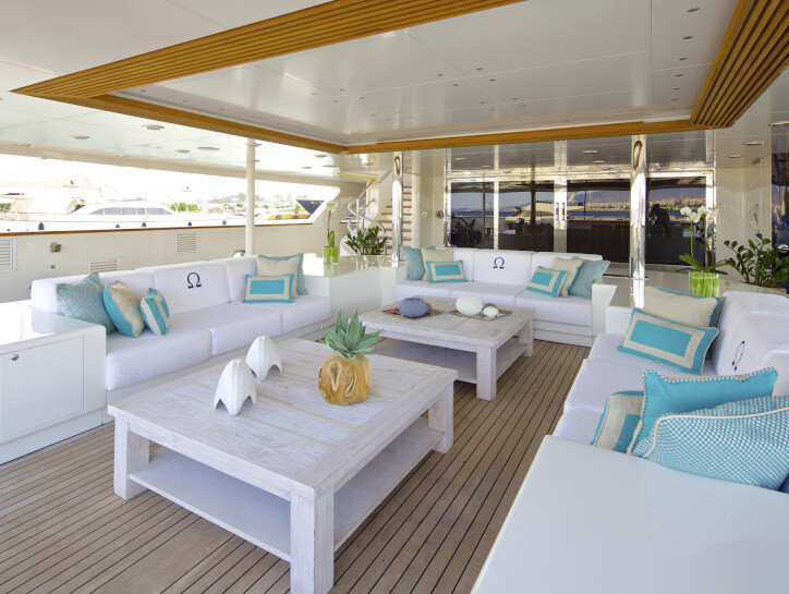 O'Mega yacht for charter