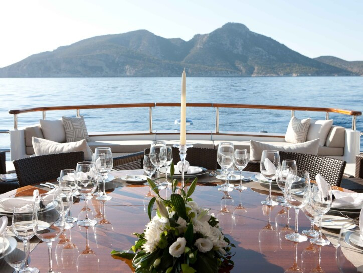 Mirage yacht for charter