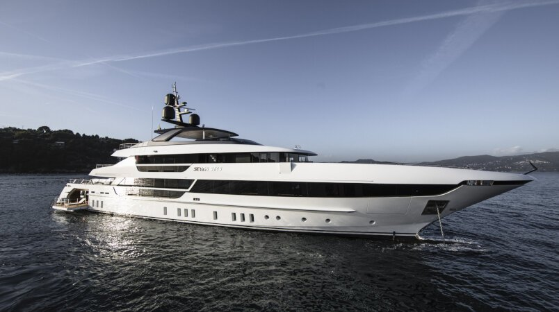 Seven Sins Luxury Super Yacht For Sale