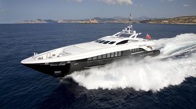 Perle Noire Yacht for Sale | Heesen Luxury Motor Yacht