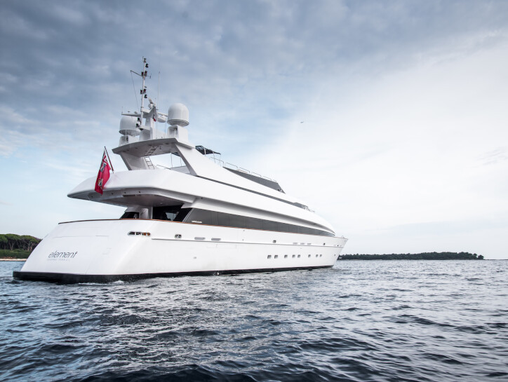 Element yacht for charter