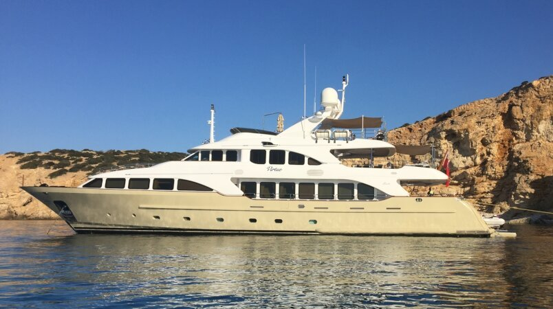 Virtue Luxury Super Yacht For Sale