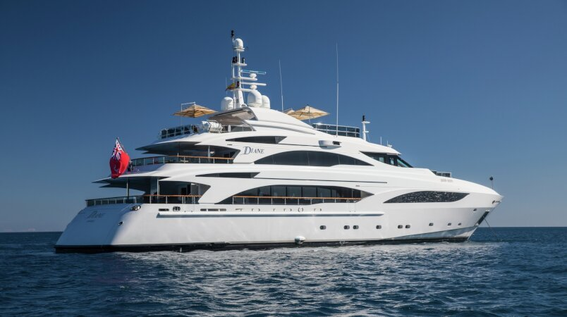 Diane Luxury Super Yacht For Sale