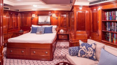 Adela Yacht Interior