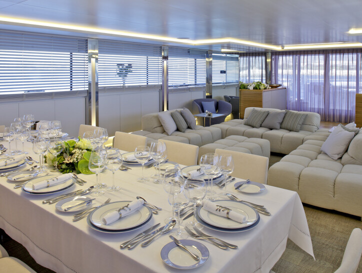 Barents Sea yacht for charter
