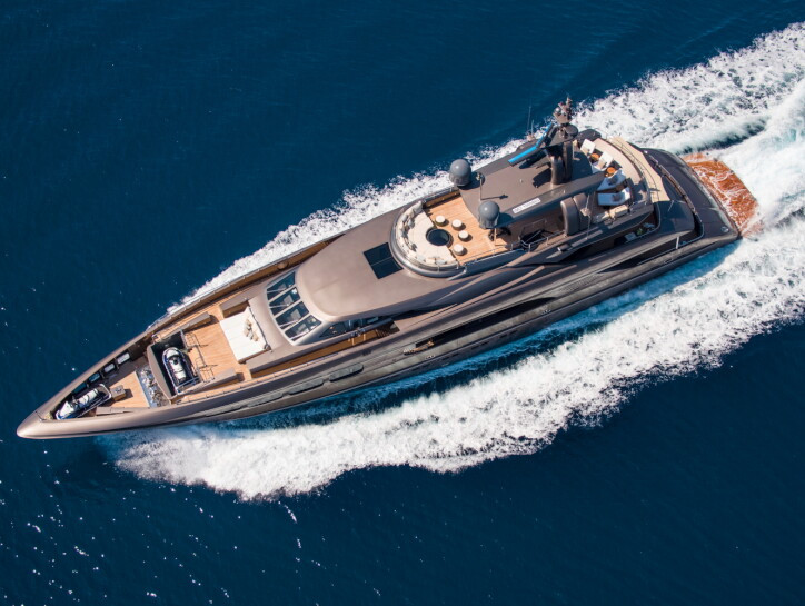 Auspicious yacht for sale