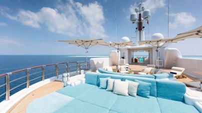Nirvana Yacht Interior