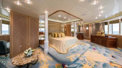 Moonlight II Yacht Interior