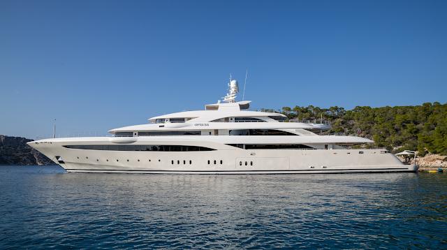 O'Ptasia Yacht Charter | Golden Yachts Luxury Motor Yacht