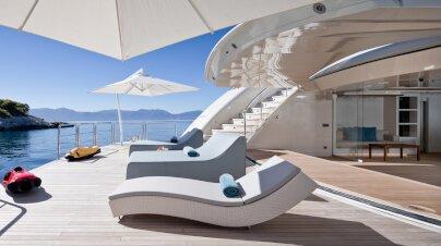 O'Ptasia Yacht Interior