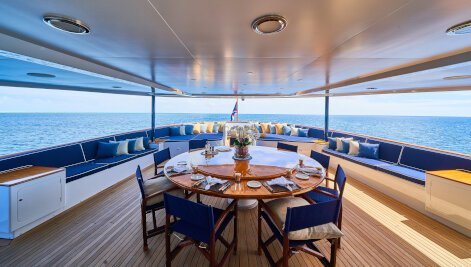 Asteria yacht for Charter