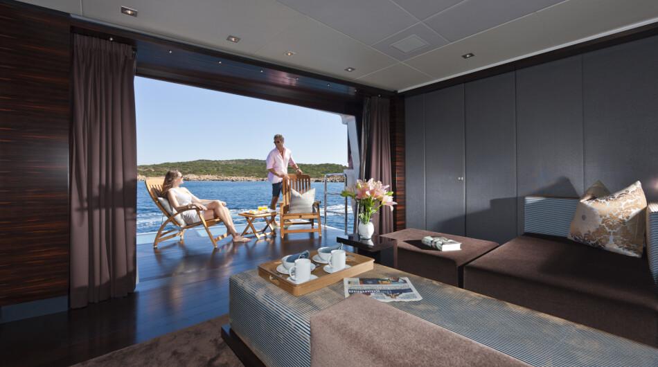 VIP balcony